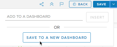 save to new dashboard