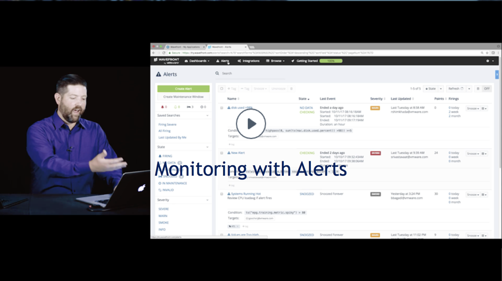 monitoring with alerts